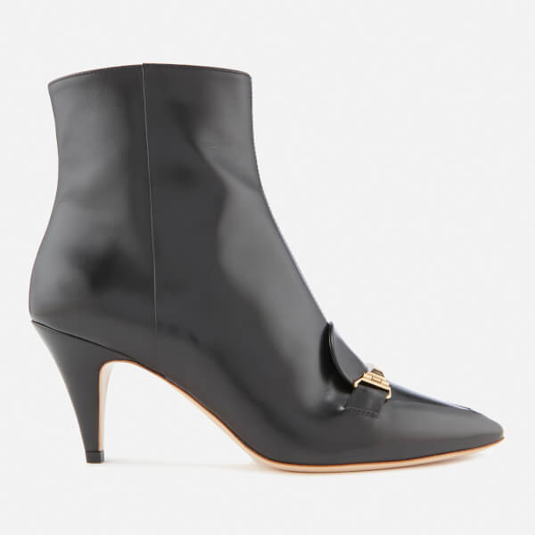 Tod's Women's Pointed Heeled Ankle Boots - Black