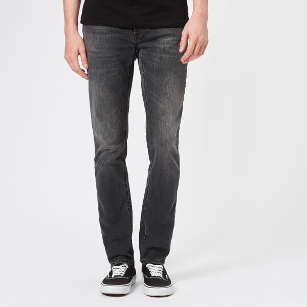 Nudie Jeans Men's Lean Dean Tapered Jeans - Mono Grey