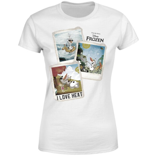 134dc4cdbb1436 Product Images Carousel. Frozen Olaf Polaroid Women's T-Shirt - White