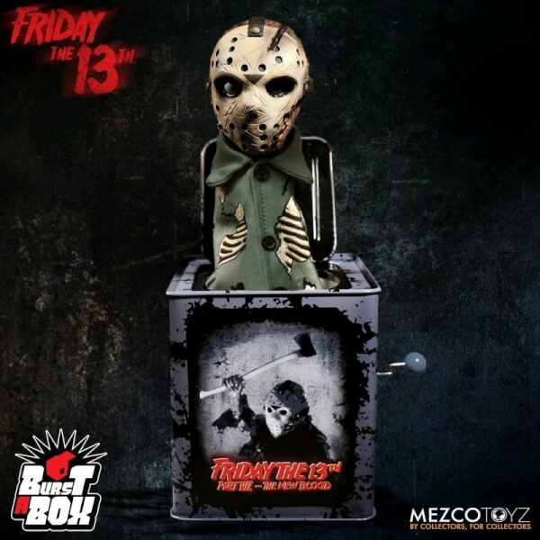Картинки по запросу Burst-A-Box Figures - Friday The 13th - Jason Voorhees
