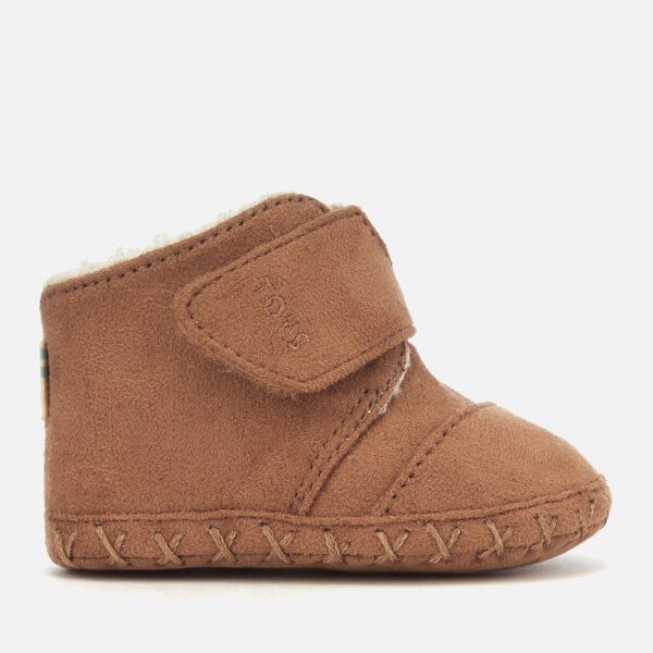 TOMS Babies Cuna Microfiber Boots - Toffee