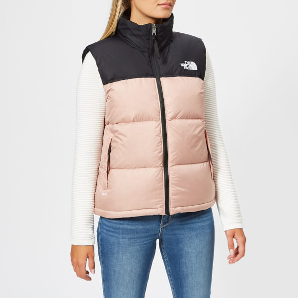a58ae4aee8 The North Face Women s 1996 Retro Nuptse Vest - Misty Rose Womens ...