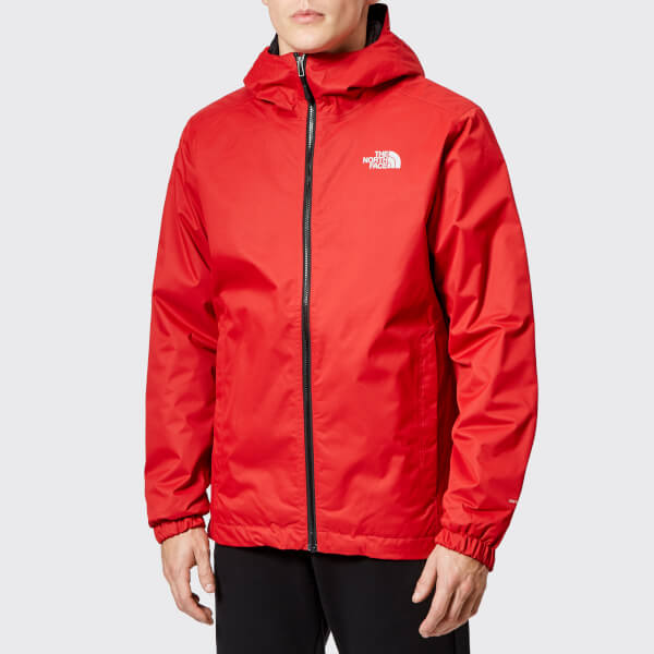 The North Face Men s Quest Insulated Jacket - Rage Red Black Heather  Image  1 84cb758c84ac