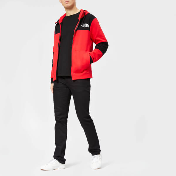 ... ireland the north face mens himalayan fullzip hoodie tnf red image 3  41c21 8330f ba497af62