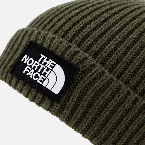 4a34e437a57 The North Face Men s TNF Logo Box Cuffed Beanie - New Taupe Green  Image 3
