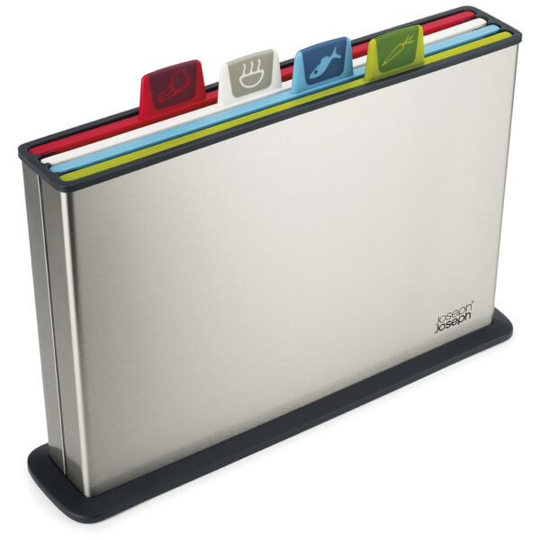 Joseph Joseph Index Chopping Board - Steel/Multi Colour