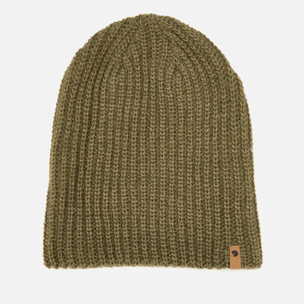 Fjallraven Men's Ovik Melange Beanie - Laurel Green