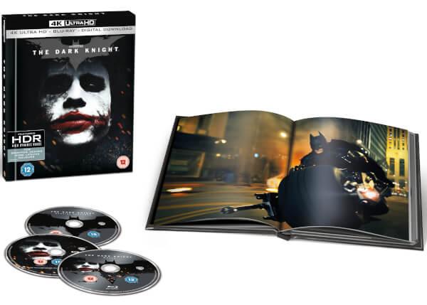 The Dark Knight, Le Chevalier Noir - 4K Ultra HD Ãdition Ultra Limitée Film Book