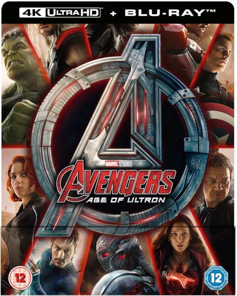 Avengers : L'ère d'Ultron 4K Ultra HD - Steelbook Exclusif Limité pour Zavvi (Ãdition UK)