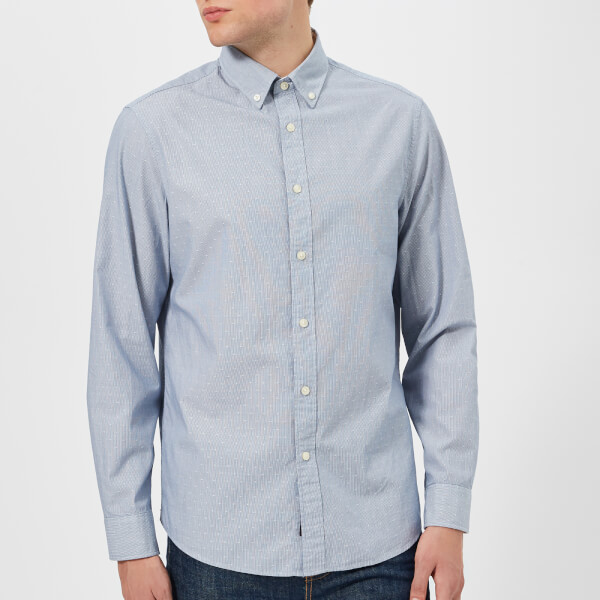 Michael Kors Men's Dobby Shirt - Cape Blue