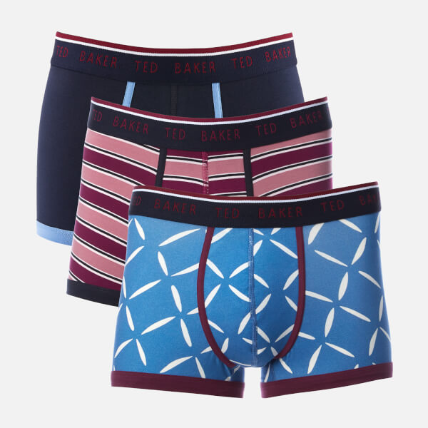 e0404ca2336d Ted Baker Men s Whosat 3 Pack Boxer Shorts - Assorted Mens Underwear ...