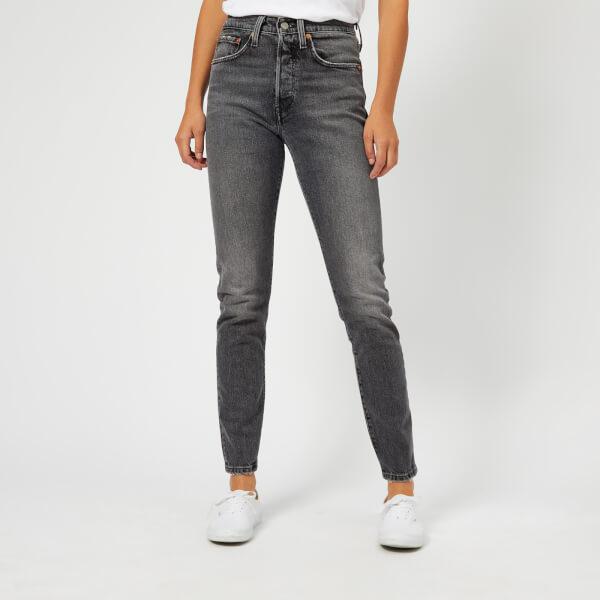 Levi s Women s 501 Skinny Jeans - Coal Black Clothing   TheHut.com 23655a1d2a3c