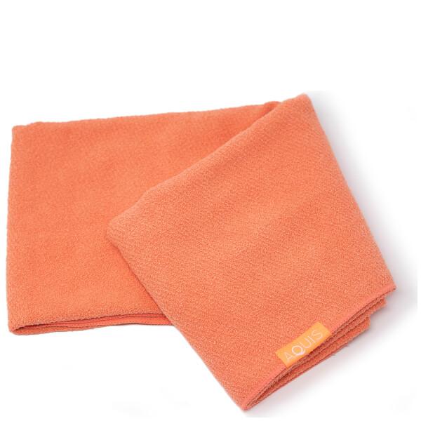 Aquis Original Long Hair Towel Ultra Absorbent Fast Drying Microfiber For Longer