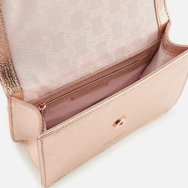a35bf8488d670 Ted Baker Women s Drayaa Bow Detail Micro Metallic Cross Body Bag -  Rosegold  Image 5