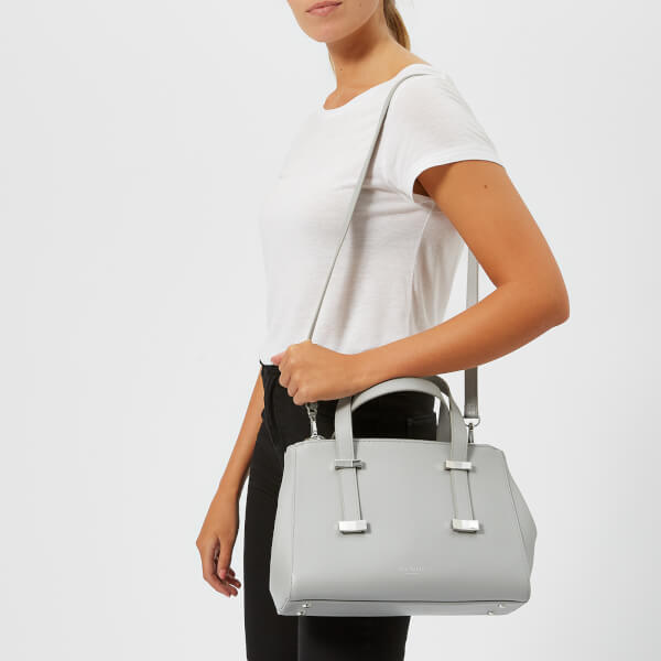 d41085ae13131a Ted Baker Women s Alyssaa Bow Adjustable Handle Small Tote Bag - Grey   Image 3