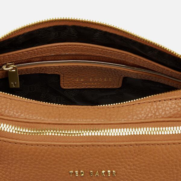 b3298f174 Ted Baker Women s Maceyy Tassle Double Zipped Cross Body Bag - Tan  Image 5