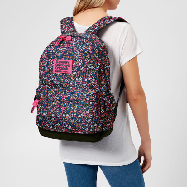 c881580970 Superdry Women s Print Edition Montana Backpack - American Ditsy Blue   Image 3