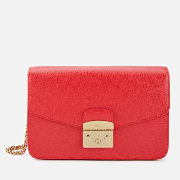 Furla Women's Metropolis Small Shoulder Bag - Ruby