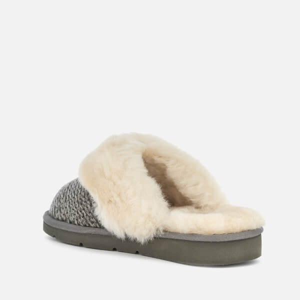 8758145d76c UGG Women s Cozy Knit Slippers - Charcoal  Image 2