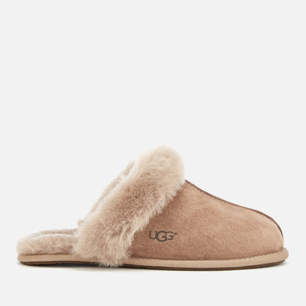 UGG Women's Scuffette II Sheepskin Slippers - Fawn
