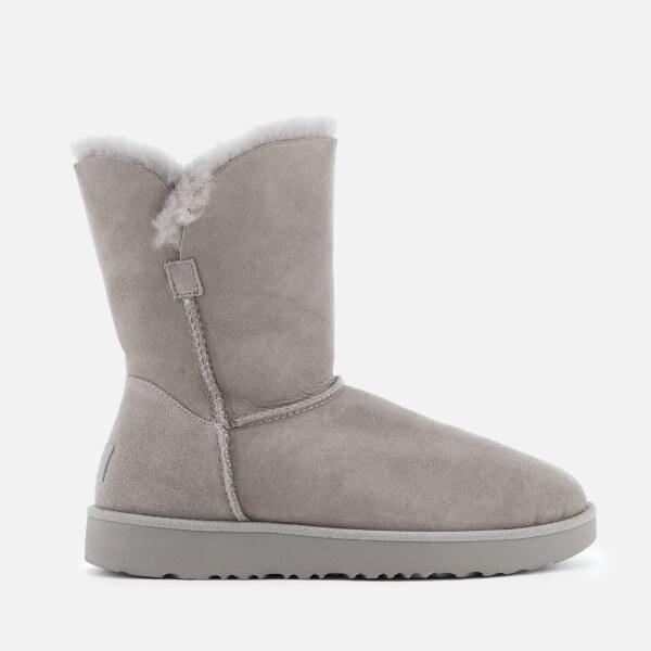 UGG Women's Classic Cuff Short Sheepskin Boots - Seal
