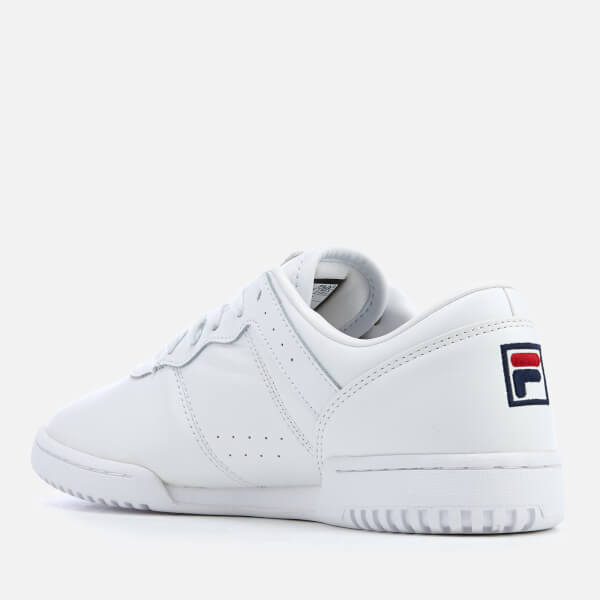 efa5029021a4 FILA Women s Original Fitness Trainers - White Navy Red  Image 2