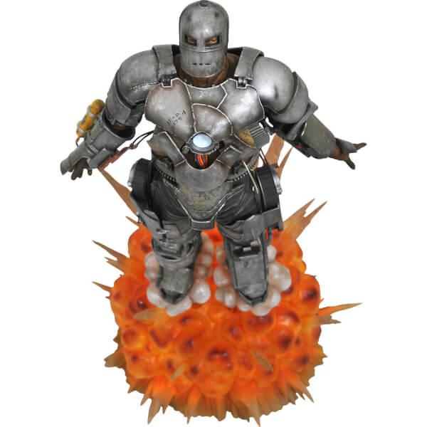 Картинки по запросу Marvel Milestones Statues - Iron Man Movie - 10th Anniversary Iron Man MK1