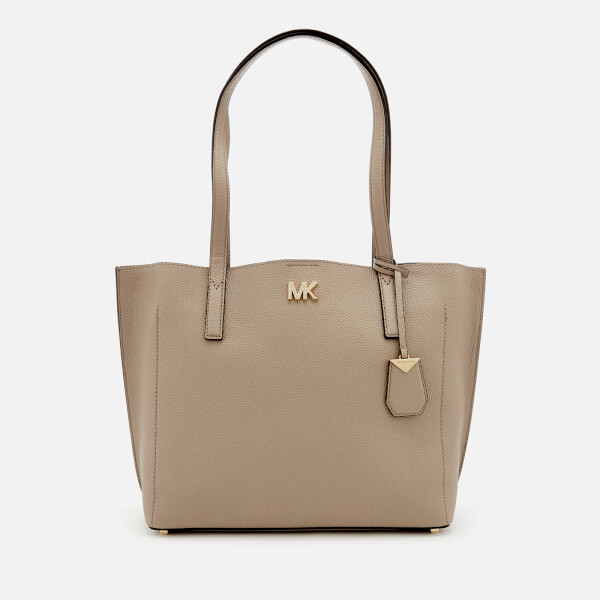 MICHAEL MICHAEL KORS Women's Ana Medium East West Bonded Tote Bag - Truffle