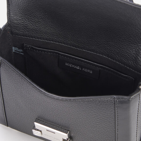 a42d14cef07db MICHAEL MICHAEL KORS Women s Jayne Small Trunk Bag - Black  Image 4