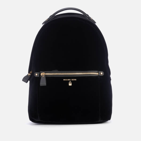 13f8c1d1fcd MICHAEL MICHAEL KORS Women s Nylon Kelsey Large Backpack - Black Velvet   Image 1