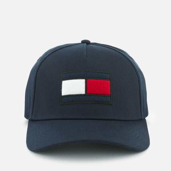 c09a03a953 Tommy Hilfiger Men s Flag Cap - Navy  Image 1