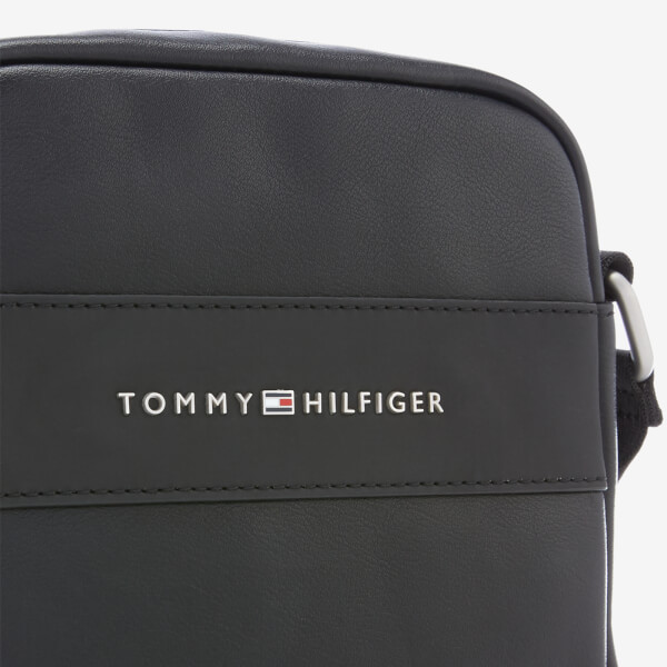 Tommy Hilfiger Men s City Mini Reporter Bag - Black Mens Accessories ... 4aef4944a7cd9