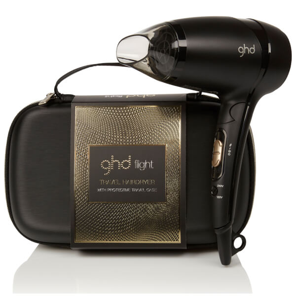 ghd Flight Travel Hair Dryer with Protective Case