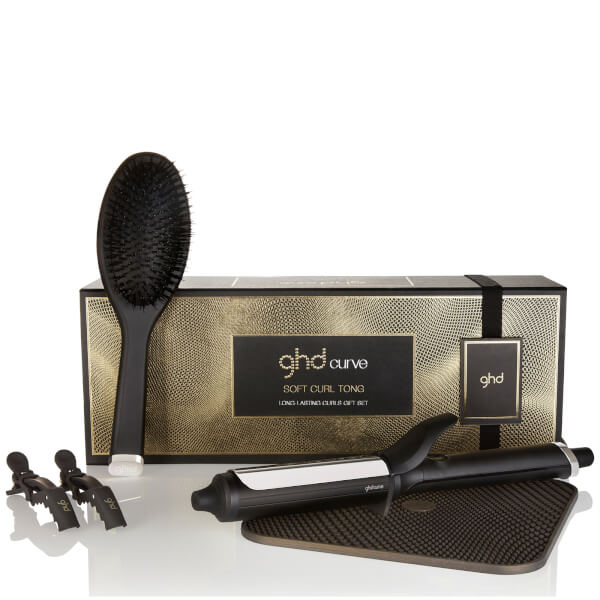 ghd Long Lasting Curling Tong Gift Set (Worth £144.98)