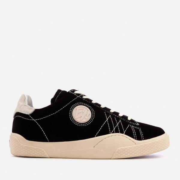 Eytys Men's Wave Suede Low Top Trainers - Black