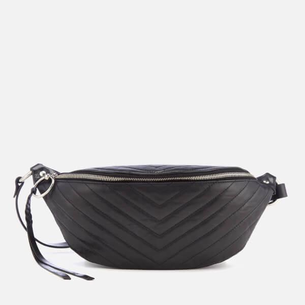 3b67ea5b4 Rebecca Minkoff Women s Edie Quilted Nylon Sling Bag - Black  Image 1