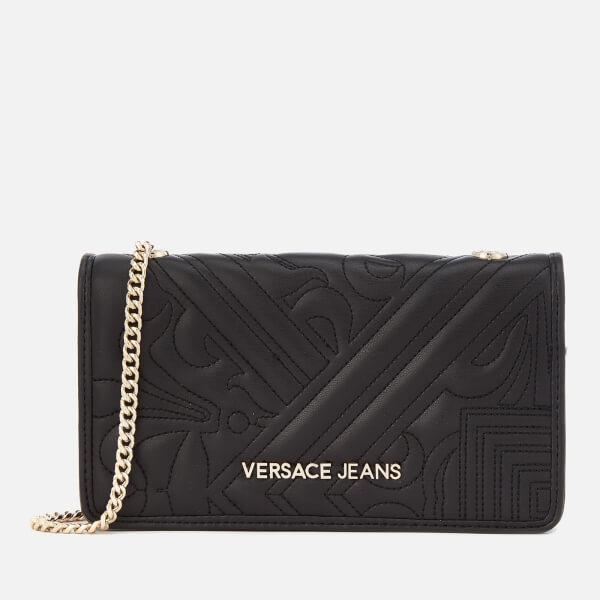 6cb8a248ec Versace Jeans Women s Small Padded Cross Body Bag - Black Womens ...