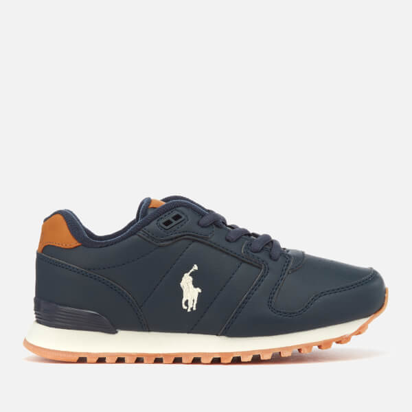 Polo Ralph Lauren Kids' Oryon Runner Style Trainers - Navy