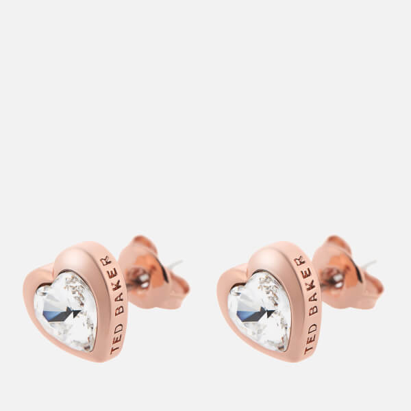 ef09d28dd Ted Baker Women's Laaria Heart Trio Gift Set - Rose Gold/Crystal: Image 3