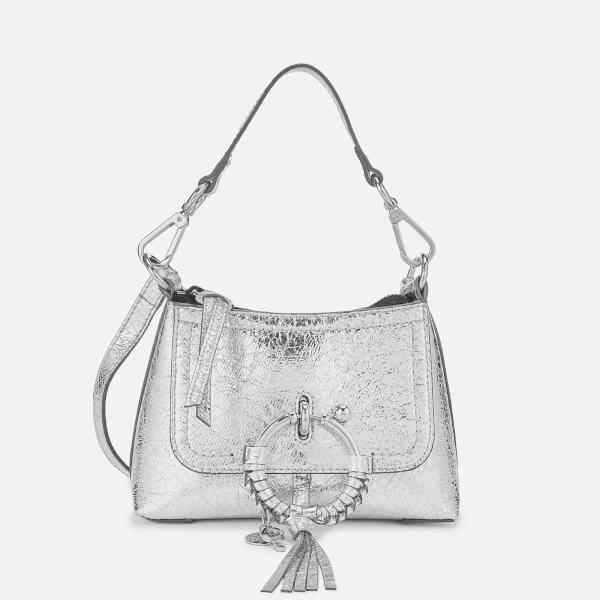 See By Chloé Women's Joan Hobo Bag - Silver