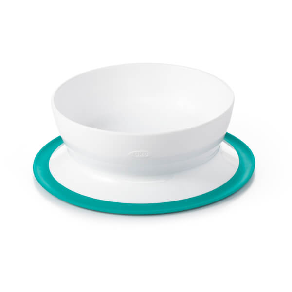 OXO Tot Stay Put Bowl Teal