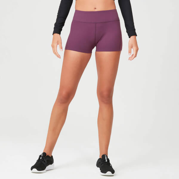 Myprotein Power Shorts - Mulberry