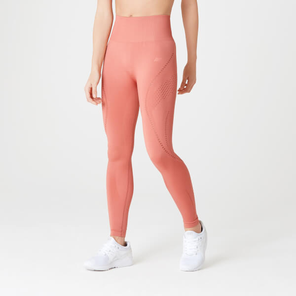 Myprotein Shape Seamless Ultra Leggings – Copper Rose