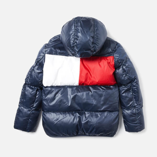 608f2b704 Tommy Hilfiger Boys Quilted Jacket Navy - Best Quilt Grafimage.co