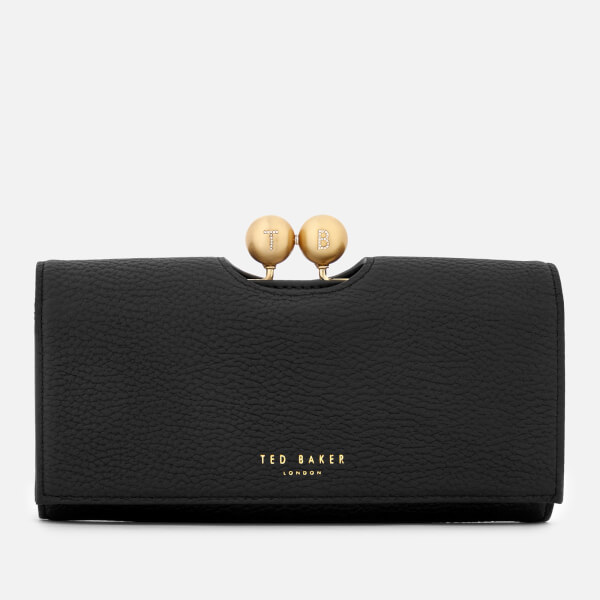 bafbabea77ac Ted Baker Women s Josiey Scripted Bobble Matinee Purse - Black  Image 1