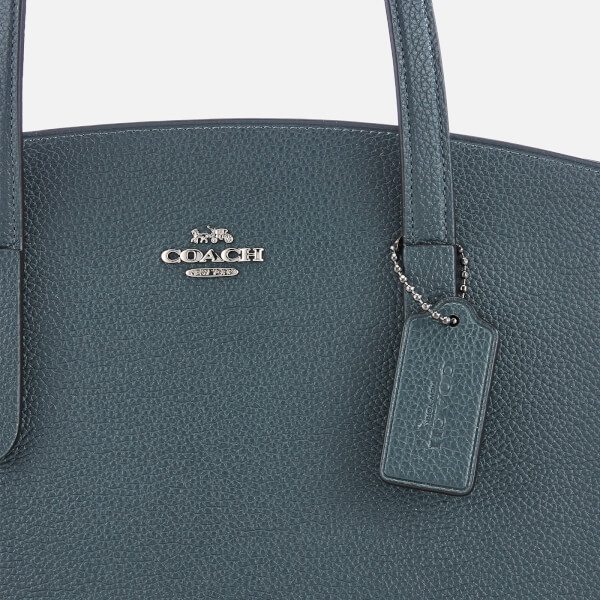 89e598a84b Coach Women s Polished Pebble Leather Charlie Carryall Bag - Cypress  Image  4