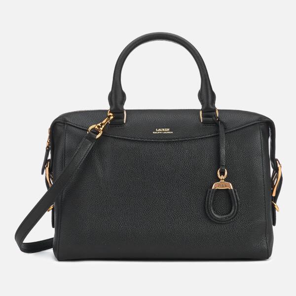 Lauren Ralph Lauren Women's Cornwall Medium Satchel Bag - Black