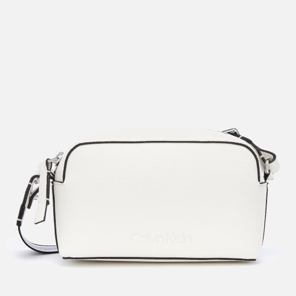 Calvin Klein Women's Race Cross Body Bag - Bright White