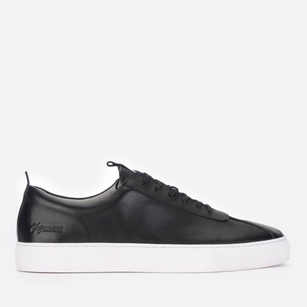Grenson Men's Sneaker 1 Leather Cupsole Trainers - Black