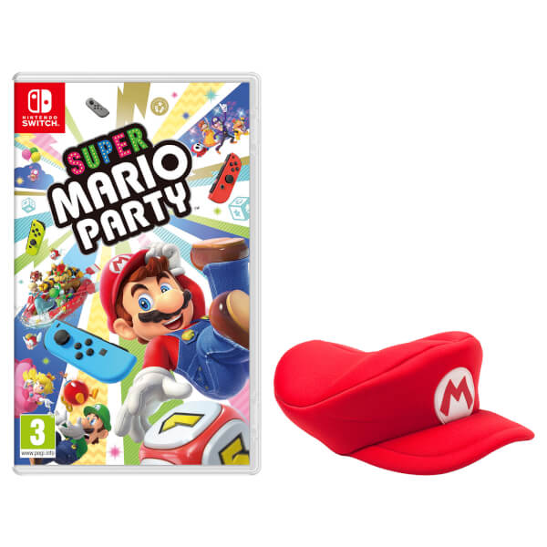 Super Mario Party + Mario Cap
